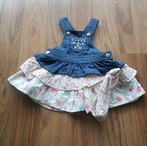 ⭐3/35⭐Koala Baby   Jean dress with headband